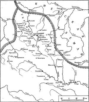 Волынская и Галицкая земли в XI-XII веках