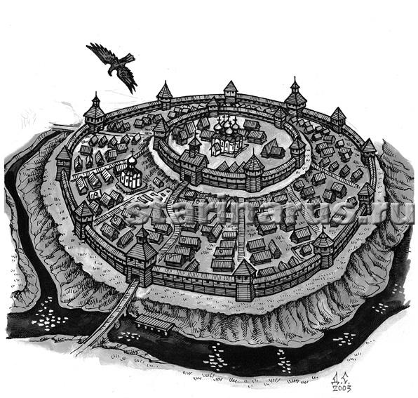 Историческое ядро города