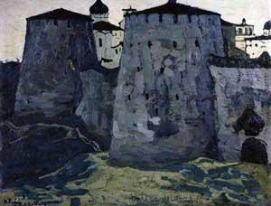 Изборск. Картина Н.Рериха