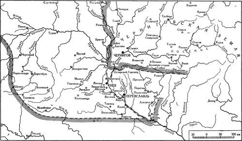 Киевская земля в XI-XII веках