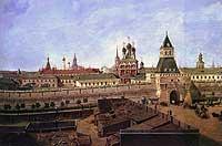 Петрок Малый. Стена Китай-Города. Открытка конца XIX века.