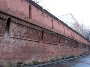 Стена Китай-Города. Реконструкция.