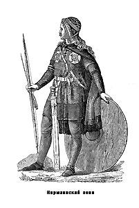 Норманский воин