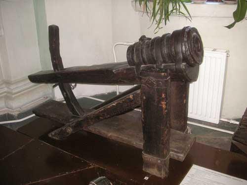 Железное кованое орудие, начало XV века
