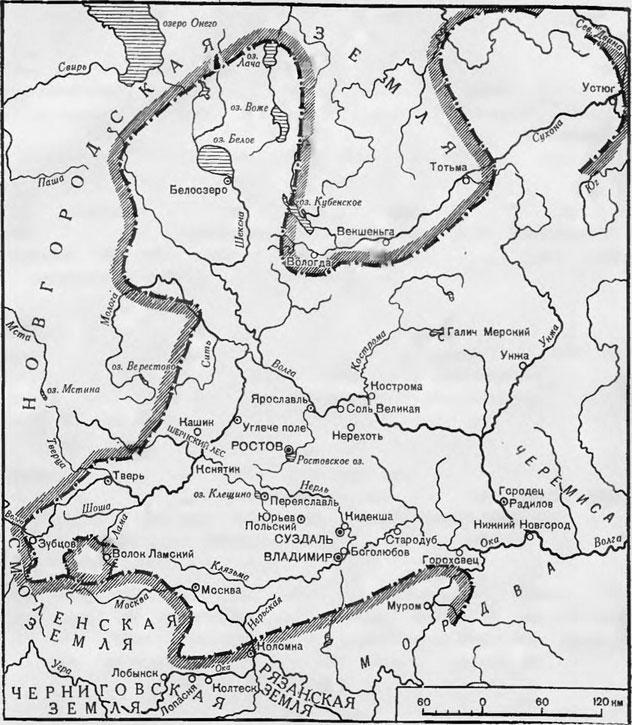 Ростово-Суздальская земля в XII-XIII веках