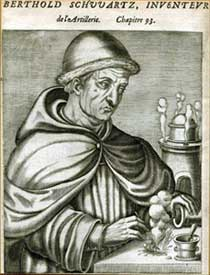Бертольд Шварц. (Рисунок 1584 г)