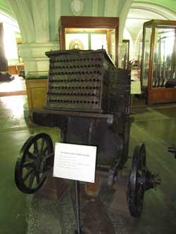 105-ствольный железный скоропал, конец XVII века.