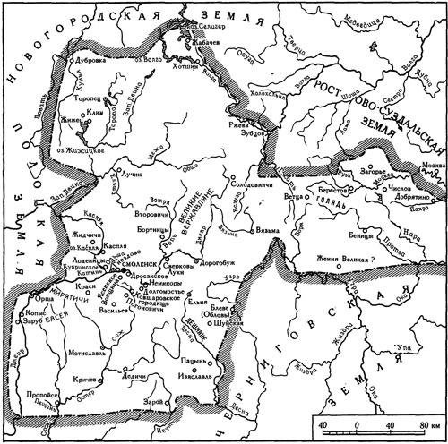 Смоленская земля в XII веке