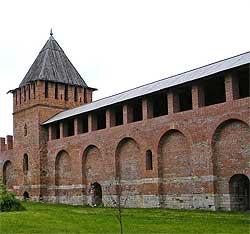 Стена Смоленской Крепости