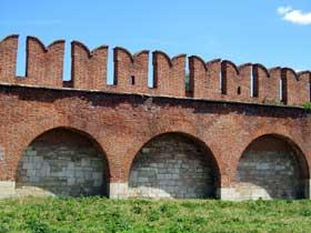 Крепостная стена Тульского Кремля