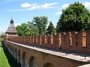 Стены и башни Тульского Кремля